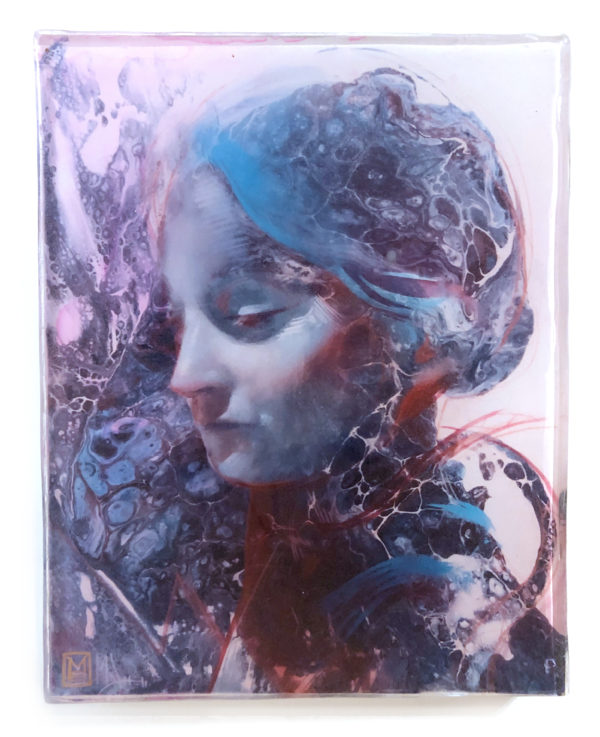 Mother Mary Original Print by Marc Scheff